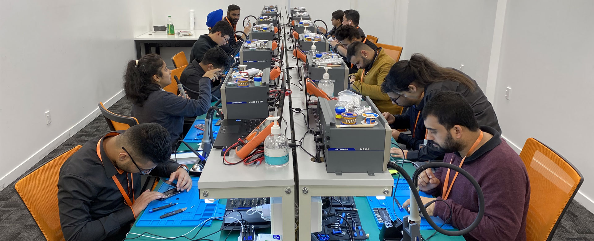 Mobile repair training course